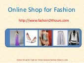Online Shop for Fashion from Fashion24hours