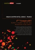 Online shopper intelligence - France - T4 2011 - kantar media