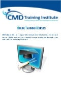 Online Training Courses 2011