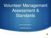Volunteer Engagement Assessment & S...