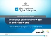 Introduction to online video in the...