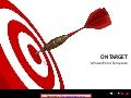 On Target PowerPoint Template