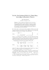 On the gravitational_field_of_a_point_mass_according_to_einstein_theory