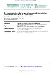 On the nature of medial temporal lo...