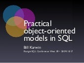 Practical Object Oriented Models In...