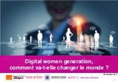 Digital women generation : comment ...