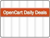 OpenCart Daily Deals