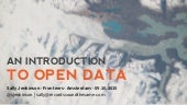 An Introduction to Open Data