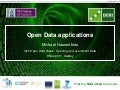 Open Data Applications