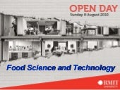Open Day Food Tech 2010 2