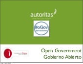 Open Government: Fundación Ideas
