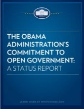 Open Government Status Report