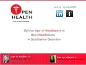 Open Health Data Qualitative Overview