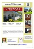 Open house 122 Huntington Road, Russell, MA by Lesley Lambert, REALTOR