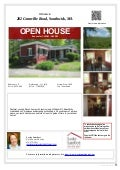 Open house 282 Granville Road, Southwick, MA 01077 Sunday June 1, 2014