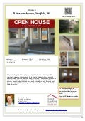 Open House - 74 Western Avenue - Home for sale in Westfield - April 26th 1-2:30pm
