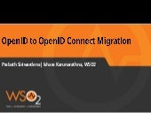 Open ID to Open ID Connect Migration