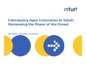 Open innovationintuit npuc