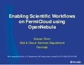 Enabling Scientific Workflows on Fe...