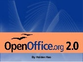 Openoffice OpenHUBS - Holden Hao