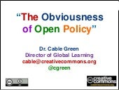 Workshop Barcelona: Open policy