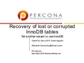 Open sql2010 recovery-of-lost-or-co...