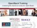 OpenStack Training - OpenStack Summit Atlanta