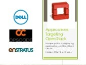 Open stack design 2012 applicatio...