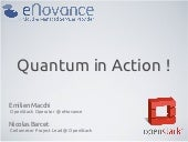 Open stack in action enovance-quant...