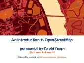 An Introduction to OpenStreetMap (U...