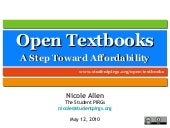 Open Textbooks: A Step Toward Affor...
