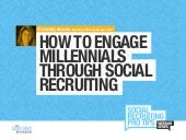 Using Social to Engage Millennials