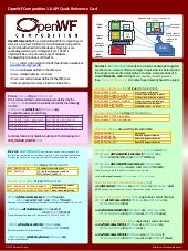 OpenWF 1.0 Composition Reference Card