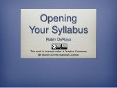 The Open Syllabus: A Practical Guide to Open Pedagogy in Your Course