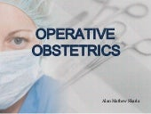Operative obstetrics