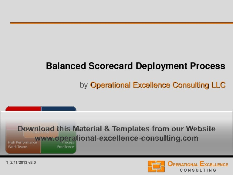 Balanced scorecard master thesis