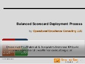 OpEx Balanced Scorecard Deployment Training Module