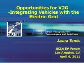 Opportunities for v2 g integrating ...