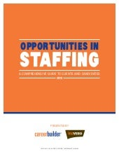 Opportunities In Staffing   Executi...