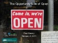 Opportunity Side of Open