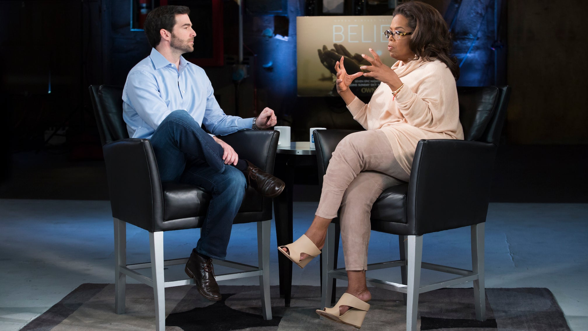 "Oprah Winfrey: ""What I Really Want is to Connect"" - Part II"