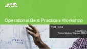 Hortonworks Technical Workshop - Operational Best Practices Workshop