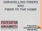 Optical Fiber Communication | FTTH