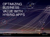 Optimizing Business Value with Hybrid Apps--An Informatica e-book