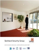 Optimum security info doc