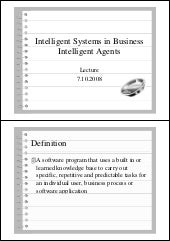 Intelligent Systems in Business