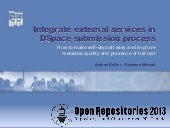 Integrate external bibliographic se...