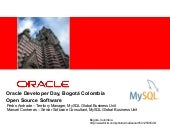 Oracle-Developer-Day-Colombia_MySQL...
