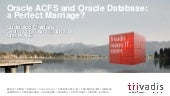 Oracle Database on ACFS: a perfect marriage?