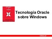 Oracle en windows